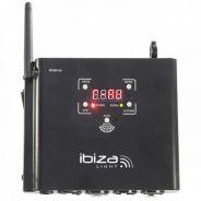 0 Ibiza WD300DMX Wireless DMX Transceiver System 2.4GHz