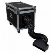 0 Briteq BT-H2FOG II Ultrasonic 1500W Low Fog Machine in Flight Case