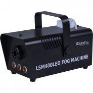 Ibiza LSM400LED-BK Mini Fog Machine with Amber LEDs 400W - Black