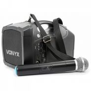 0 Vonyx ST-010 Personal PA Wireless System VHF HH