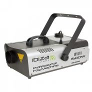 0 Ibiza LSM1500PRO Professional Fog Machine with DMX and Controller 1500W
