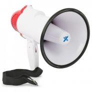 0 Vonyx MEG020 Megaphone 20W record, sirene