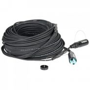 0 RGBlink Multi mode optic fiber cable-50m-4 with protection caps, 4 cores inside, LC to LC connector, 50m, incl. cable reel