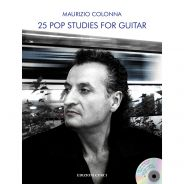 Edizioni Curci M. Colonna 25 Studi Pop per Chitarra