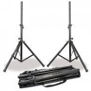 0 Vonyx LS01K Speaker Stand Set in Bag