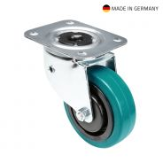 Tente 37037 - Swivel Castor 100 mm with petrol wheel and directional self-setting feature