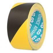 0 Advance Tapes 5803 - Nastro di Segnalazione nero/giallo 50mm x 33m