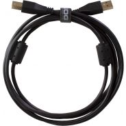 0 Udg U95001BL - ULTIMATE CAVO USB 2.0 A-B BLACK STRAIGHT 1M Cavo usb
