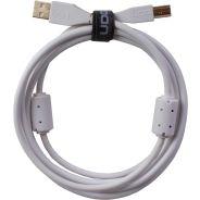0 Udg U95001WH - ULTIMATE CAVO USB 2.0 A-B WHITE STRAIGHT 1M
