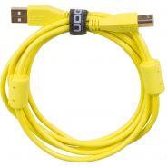 Udg U95002YL - ULTIMATE CAVO USB 2.0 A-B YELLOW STRAIGHT 2M Cavo usb