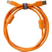 Udg U95002OR - ULTIMATE CAVO USB 2.0 A-B ORANGE STRAIGHT 2M Cavo usb