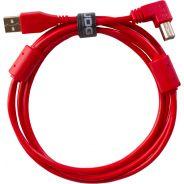 0 Udg U95004RD - ULTIMATE CAVO USB 2.0 A-B RED ANGLED 1M Cavo usb