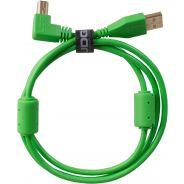Udg U95005GR - ULTIMATE CAVO USB 2.0 A-B GREEN ANGLED 2M Cavo usb