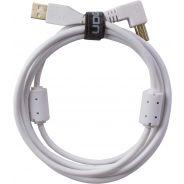 0 Udg U95006WH - ULTIMATE CAVO USB 2.0 A-B WHITE ANGLED 3M Cavo usb