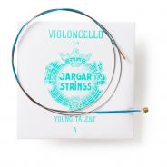 Jargar LA BLUE MEDIUM YOUNG TALENT 3/4 PER VIOLONCELLO JAYTAM Corde / set di corde per violoncello