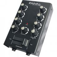 0 Ibiza MIX500 2-Channel Mixer