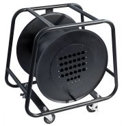 DAP-Audio - Empty Stagewheel - 28 fori per il telaio XRL, per max. 50 m 28 coppia di cavi