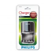 PHILIPS - Caricatore batterie AA e AAA