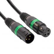 Accu Cable Cavo DMX XLR M / XLR F 5mt