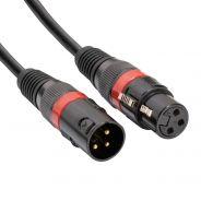 Accu Cable Cavo DMX XLR M / XLR F 3 Poli 10mt