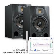 Coppia Adam A3X con Sonarworks Reference 4 Studio Edition con Mic XREF 20