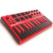 Akai MPK Mini MKII MK2 LE Red - Controller Tastiera MIDI/USB Rossa 25 Tasti Mini