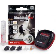 Alpine MusicSafe Pro 2019 Black - Kit di Tappi Neri per Orecchie