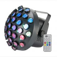 1 American Dj Contour LED Mirror Ball