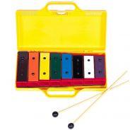 Angel APG-8C - Metallofono Diatonico 8 Note per Scuole Didattica Bambini