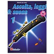 De Haske Publications Ascolta, Leggi e Suona 1 Oboe - Metodo per Oboe