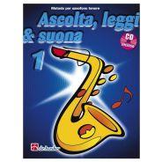 De Haske Publications Ascolta, Leggi e Suona 1 Sax Tenore - Metodo per Sax Tenore