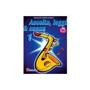 De Haske Publications Ascolta, Leggi e Suona 1 Sax Contralto - Metodo per Sax Contralto