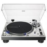 Audio Technica AT-LP140XP SV Silver - Giradischi per DJ a Trazione Diretta