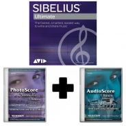 Avid Sibelius Ultimate + PhotoScore & NotateMe Ultimate + AudioScore Ultimate EDU