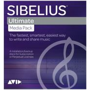 Avid Sibelius Ultimate DVD Media Pack