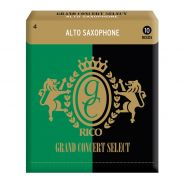 0 RICO - Ance per Sax Alto Selezione Grand Concert, Misura 4.0, Confezione 10 pz