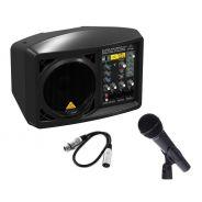 Kit Karaoke BEHRINGER B207MP3 + XM8500 + Cavo