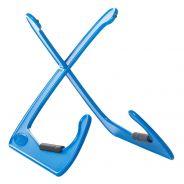 Bespeco Xanadub Azzurro Supporto Chitarra Elettrica Acustica Classica Multiuso