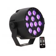 Ibiza PAR-MINI-UV - PAR 12 x 2W UV LED