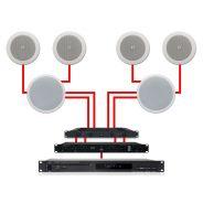 APART Sistema Audio ad Incasso Dual Zone 280W