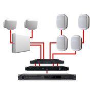 APART Impianto Audio Completo Bianco 540W