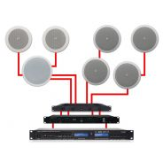 APART Sistema Audio Dual Zone da Soffitto 460W