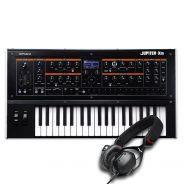 Roland Jupiter-Xm Sintetizzatore 37 Tasti con Cuffie Over Ear V-Moda Crossfade M100 Shadow2