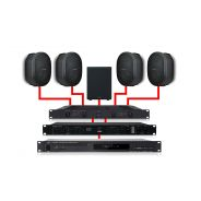 APART Sistema Audio 4.1 Nero 460W