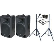 Bundle DAP AUDIO Set Diffusori Biamplificati
