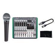 SHURE Absolute Beginner Singer Pack Microfono Dinamico Cardioide / Mixer / Custodia / Cavo XLR/XLR Bundle
