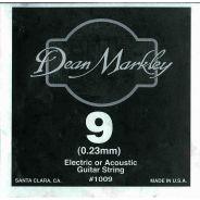 DEAN MARKLEY - Corda singola per Chitarra Elettrica Plain Steel, .009