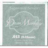 DEAN MARKLEY - Corda singola per Chitarra Elettrica Plain Steel, .013