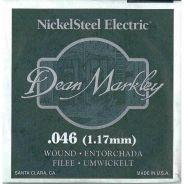 0 DEAN MARKLEY - Corda singola per Chitarra Elettrica Nickel Wound, .046