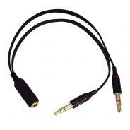 KARMA - CA 8203 - Adattatore per cuffia con microfono